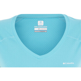 Columbia Zero Rules Chemise manches courtes Femme, atoll